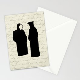 Brand New - The Devil And God Are Raging Inside Me Stationery Cards