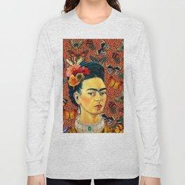 FRIDA bUTTERFLYS Long Sleeve T-shirt