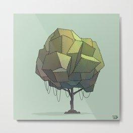 treebot Metal Print