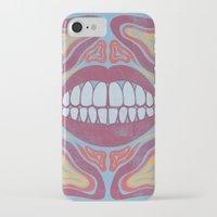 teeth iPhone & iPod Cases featuring Teeth by Julian Tavormina
