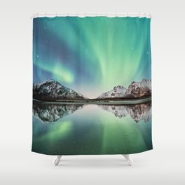 Stars Come Out At Night Shower Curtain