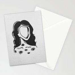 Sans visage Stationery Cards