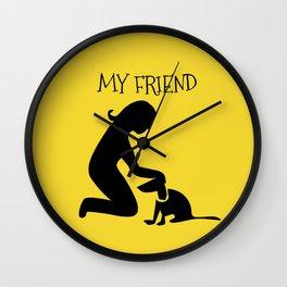 friendship Wall Clock