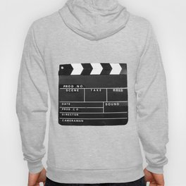 Film Movie Video production Clapper board Hoody