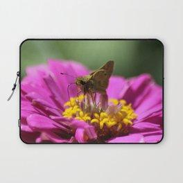 Skipper Butterfly In The Garden Laptop Sleeve