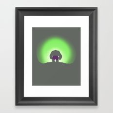 My Time In Exile Framed Art Print