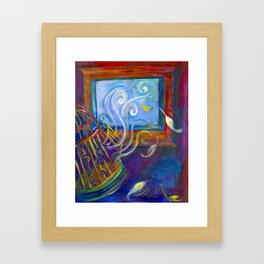Freedom to Live Framed Art Print