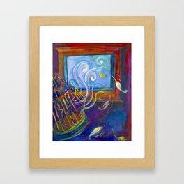 Freedom to Live Framed Art Print