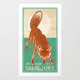 Sahalaita Art Print