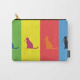 Warholian Cats Carry-All Pouch