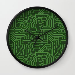 Circuits Wall Clock