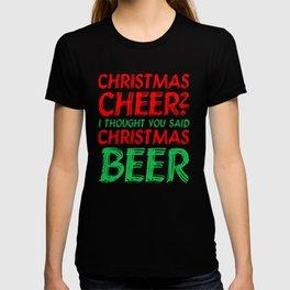 Chirstmas Cheer Ugly Christmas Sweater T-shirts T-shirt