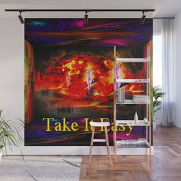 Heavenly apparition  - Take It Easy Wall Mural