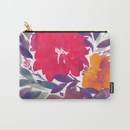 hand painted flowers_2a Carry-All Pouch