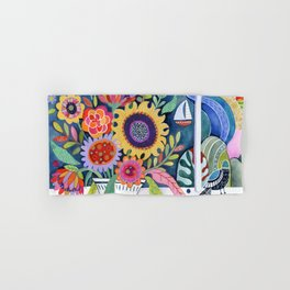 Bouquet by the Bay Hand & Bath Towel