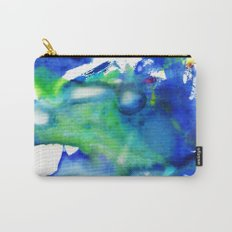 Blue Green 1 Watercolor Carry-All Pouch