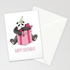 Birthday Panda Stationery Cards