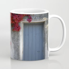 Blue door French Riviera Coffee Mug