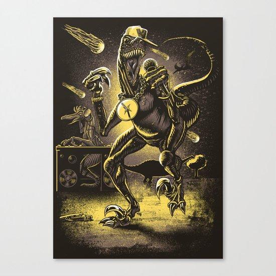 VelociRapper Canvas Print