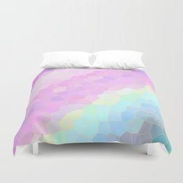 Pastel Illusions Duvet Cover