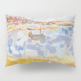 Harbour with Boats Pillow Sham