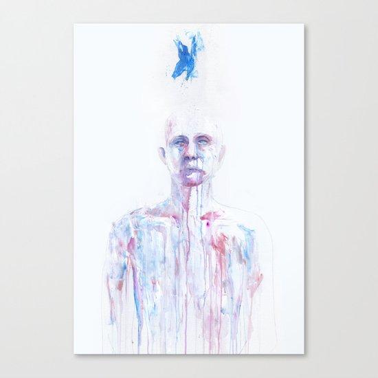 Last Blue Breath Canvas Print