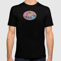 drunken mermaids Black MEDIUM Mens Fitted Tee