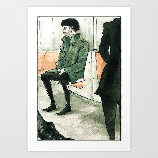 Snowpunks by Kat Mills Art Print