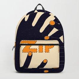 Zip Man Backpack