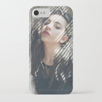 charli xcx iPhone & iPod Cases featuring Superlove ~ Charli XCX by Michelle Rosario