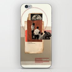 Moral of the Times iPhone Skin