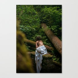 A Faerie on Her Own Canvas Print