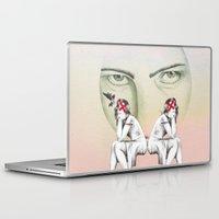 cinderella Laptop & iPad Skins featuring Cinderella by Kayleigh Day
