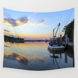 Sunset on Jones Creek II Wall Tapestry