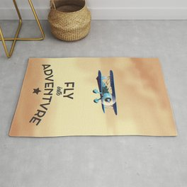 Fly Into Adventure Rug