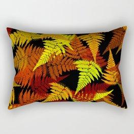 Abstract Fern Pattern Rectangular Pillow