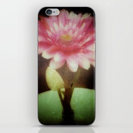 Vintage Dreamy Flower iPhone Skin
