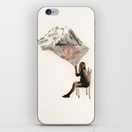Imagination is more important than knowledge. Knowledge is limited. iPhone Skin