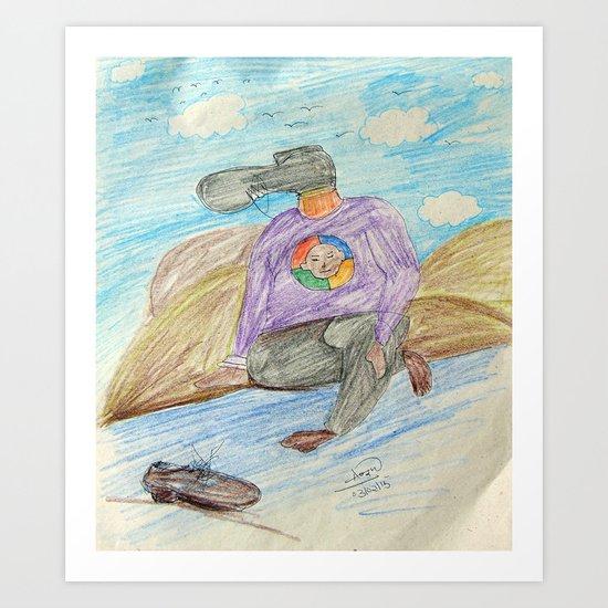 Illustration 3 Art Print
