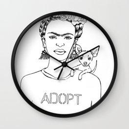 Frida Adopt Wall Clock