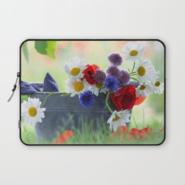 Flower potpourie from the cottage garden Laptop Sleeve