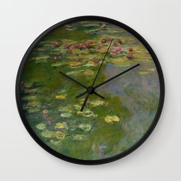 "Claude Monet ""Water Lilies"" (15a) Wall Clock"