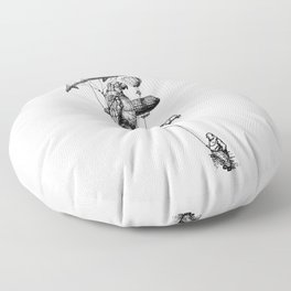 The Helium Menagerie Floor Pillow