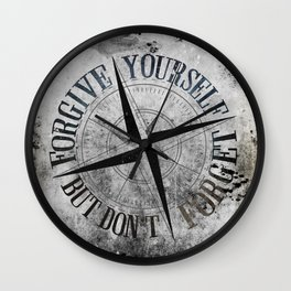 Never Fade - Don't Forget Wall Clock