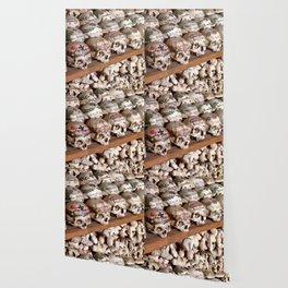 """Hallstatt, Austria Beinhaus """"Bone House"""" Wallpaper"""