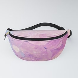 Purple Quartz Crystal Fanny Pack
