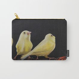 Canary and Butterfly Carry-All Pouch