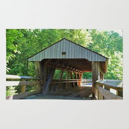 The Covered Bridge at Wildwood Rug