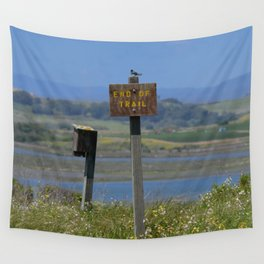 end of trail Wall Tapestry