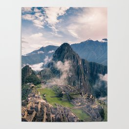 Mountain Peru Poster